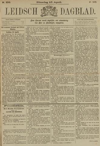 Leidsch Dagblad 1890-04-15