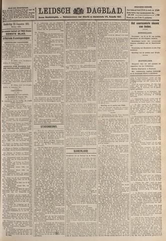 Leidsch Dagblad 1921-08-25