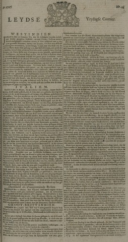 Leydse Courant 1727-04-11