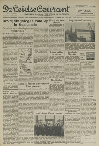 Leidse Courant 1954-06-21