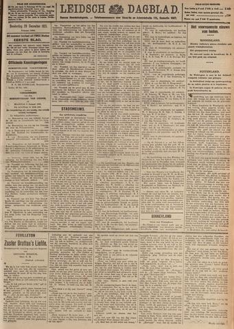 Leidsch Dagblad 1921-12-29