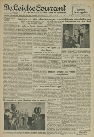 Leidse Courant 1952-04-02