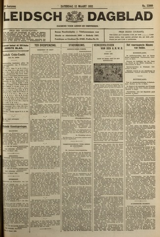 Leidsch Dagblad 1932-03-12