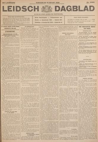 Leidsch Dagblad 1928-03-15