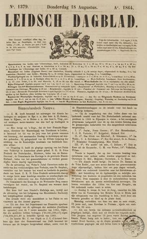 Leidsch Dagblad 1864-08-18