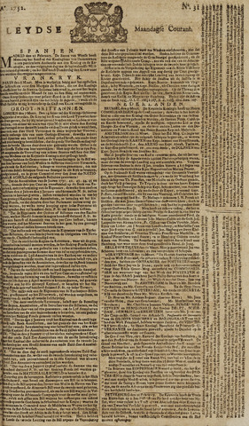 Leydse Courant 1752-03-13