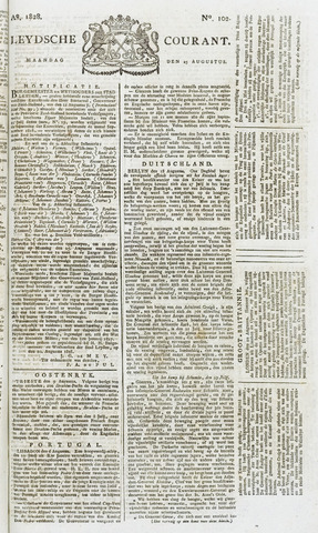 Leydse Courant 1828-08-25