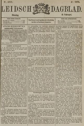 Leidsch Dagblad 1876-02-15