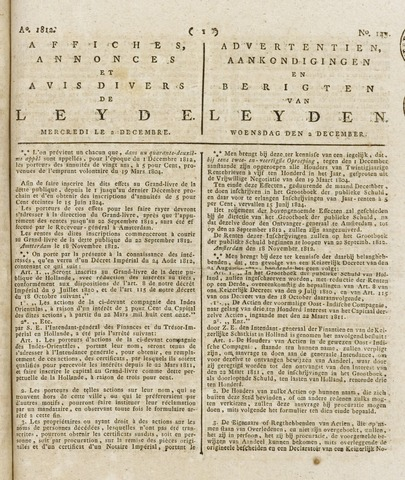 Leydse Courant 1812-12-02