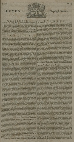 Leydse Courant 1722-10-23