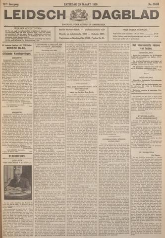 Leidsch Dagblad 1930-03-29
