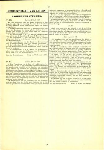 Handelingen van de Raad 1933-07-19