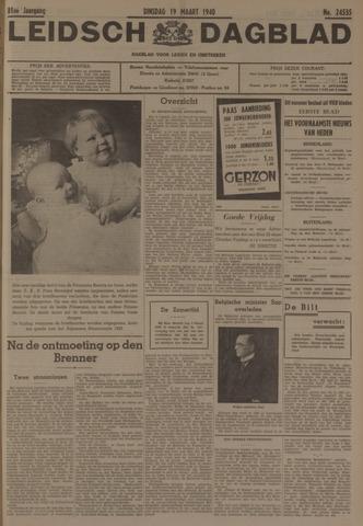 Leidsch Dagblad 1940-03-19