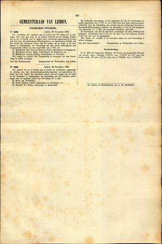 Handelingen van de Raad 1883-11-28