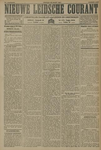 Nieuwe Leidsche Courant 1927-03-29