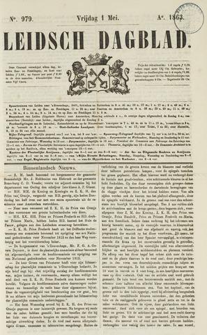 Leidsch Dagblad 1863-05-01