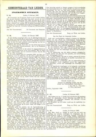 Handelingen van de Raad 1907-02-05
