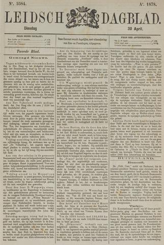 Leidsch Dagblad 1878-04-30