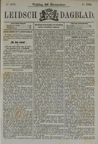 Leidsch Dagblad 1880-11-26