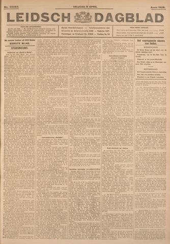 Leidsch Dagblad 1926-04-09