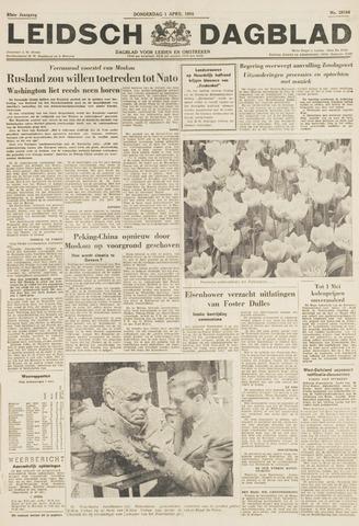 Leidsch Dagblad 1954-04-01