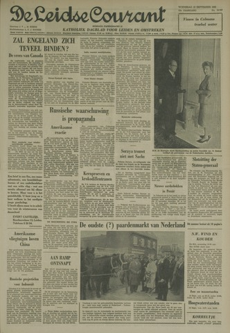 Leidse Courant 1962-09-12
