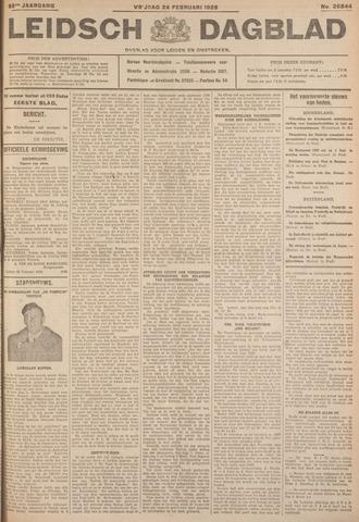 Leidsch Dagblad 1928-02-24