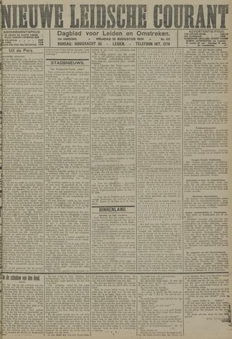 Nieuwe Leidsche Courant 1921-08-12