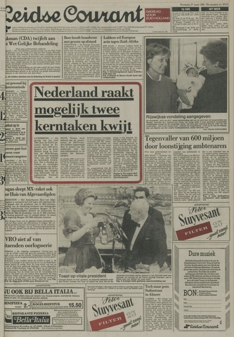 Leidse Courant 1985-03-27
