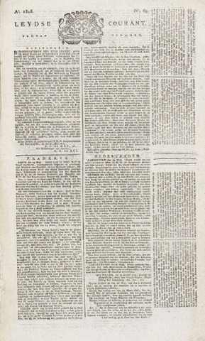Leydse Courant 1818-05-29