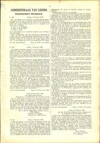 Handelingen van de Raad 1905-02-04