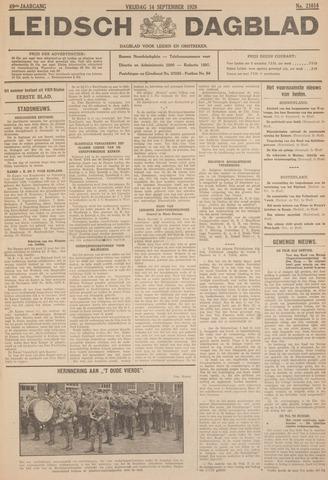 Leidsch Dagblad 1928-09-14