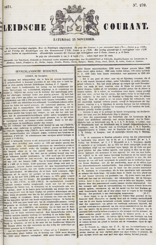 Leydse Courant 1871-11-25