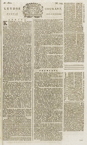Leydse Courant 1822-10-18