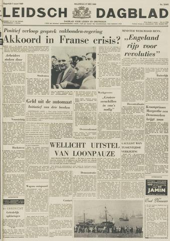 Leidsch Dagblad 1968-05-27