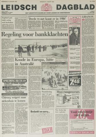 Leidsch Dagblad 1985-01-16