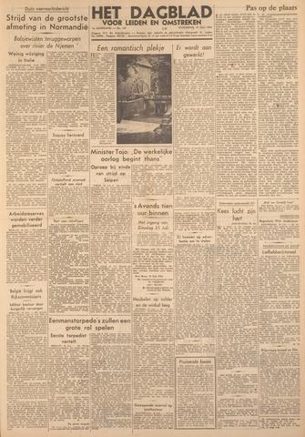 Dagblad voor Leiden en Omstreken 1944-07-19