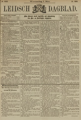Leidsch Dagblad 1890-05-07