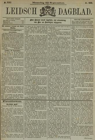 Leidsch Dagblad 1890-09-22