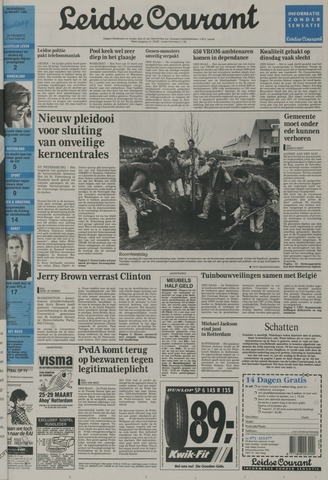 Leidse Courant 1992-03-25
