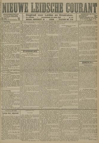 Nieuwe Leidsche Courant 1921-04-28