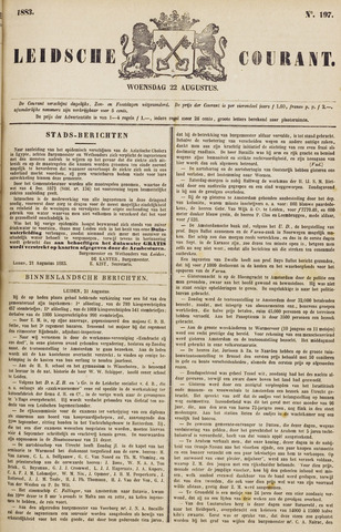Leydse Courant 1883-08-22