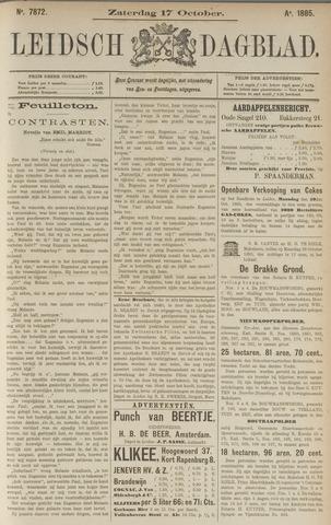 Leidsch Dagblad 1885-10-17