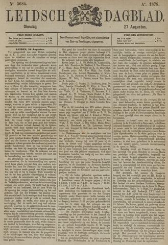 Leidsch Dagblad 1878-08-27