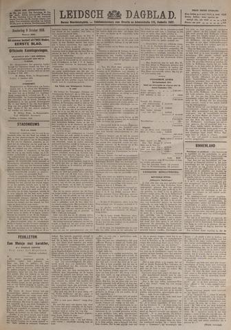 Leidsch Dagblad 1919-10-09
