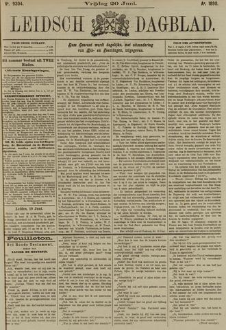 Leidsch Dagblad 1890-06-20