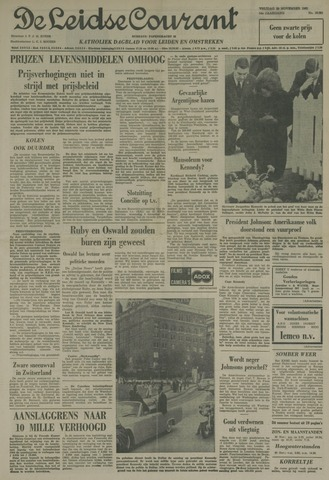 Leidse Courant 1963-11-29