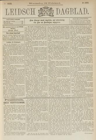 Leidsch Dagblad 1893-02-22