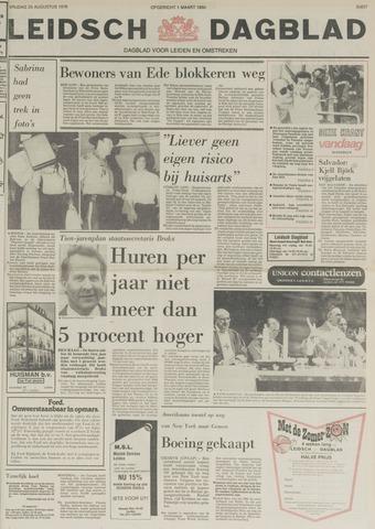 Leidsch Dagblad 1978-08-25