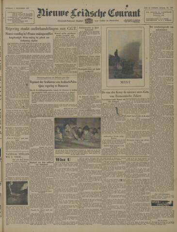 Nieuwe Leidsche Courant 1947-12-09